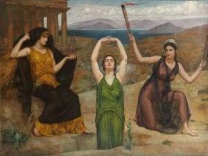 Hecate, Demeter, and Persephone